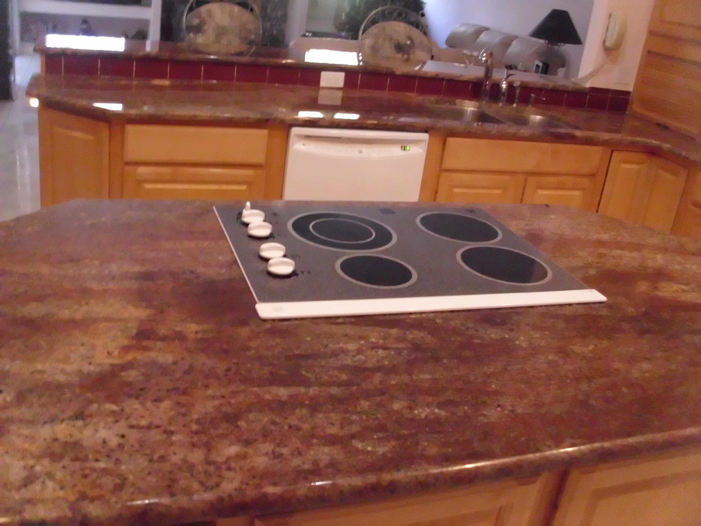 Elegant Juparana Bordeaux, Kitchen, Granite, Countertop