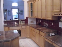Juparana Bordeaux, Kitchen, Granite, Countertop
