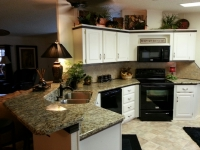 Golden Flower Countertop & Bartop