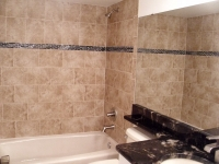 Wall Tile w/Accent